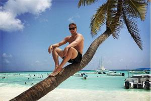 Максим Шалунов в Доминикане